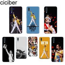 ciciber Freddie Mercury For Huawei P20 P10 P9 P8 Pro Plus Lite 2017 P smart 2019 Soft TPU Silicone Clear Phone Cases Fundas Capa