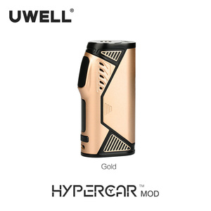 Image 4 - UWELL Hypercar Mod 80W TC Box Mod Electronic Cigarette Compatible with Whirl Tank Atomizer