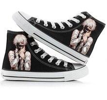 Tokyo Ghoul Kaneki Ken Printed Unisex Women Men Shoes