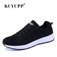 KUYUPP Summer Sport Knitting Running Shoes For Women Breathable Women's Athletic Sneakers Women 2017 Huaraches Air Footwear HS10