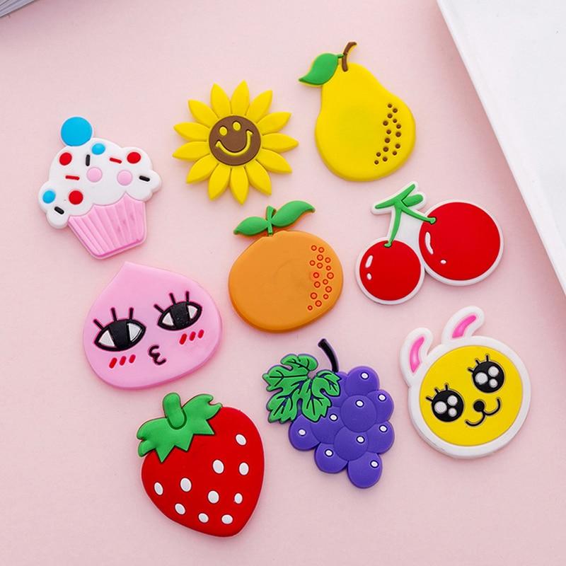 Cartoon & fruit silicon fridge magnets 1