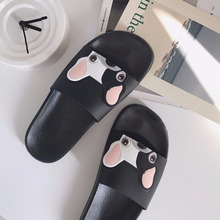 купить Fashion Non-slip Summer outdoor slides women slippers jelly flip flops flat Cartoon unicoin slippers women beach sandals по цене 747.08 рублей