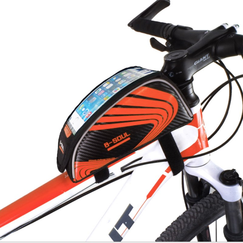 Waterproof Touch Screen Bicycle Bag Bike Front Bags Phone Storage Bag Mobile Phone Bags Bike <font><b>Accessories</b></font> Cycling Organizer Pack