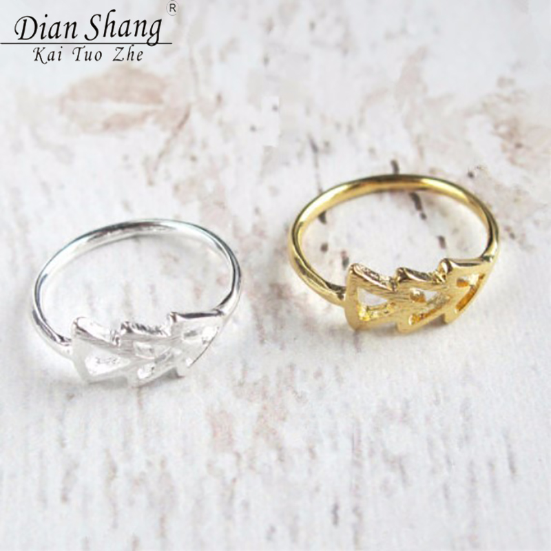 Dianshangkaituozhe lord of the ring alliances arrows ring for Jewelry storm arrow ring