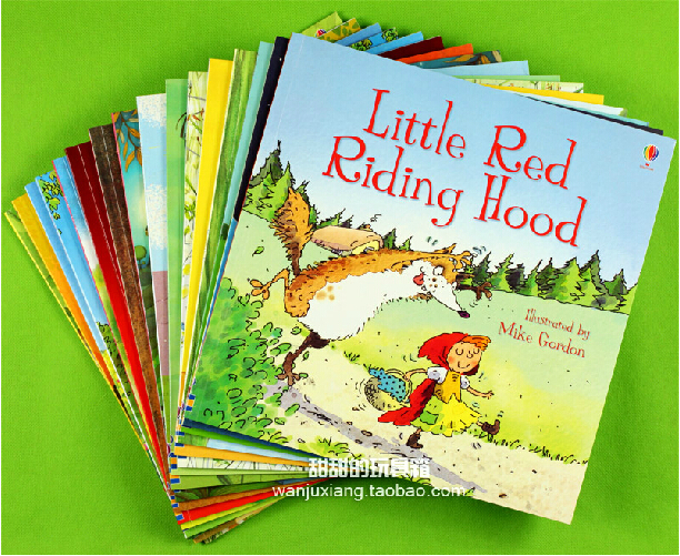 stories fairy children tales bedtime baby books classic usborne learning gift education riding famous hood