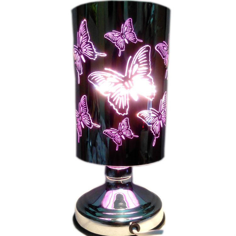 Dedicated Married Birthday Gift Three-dimensional Butterfly Dimming Aromatherapy Lamp Aromatherapy Furnace Bedroom Lamp Plug In Night