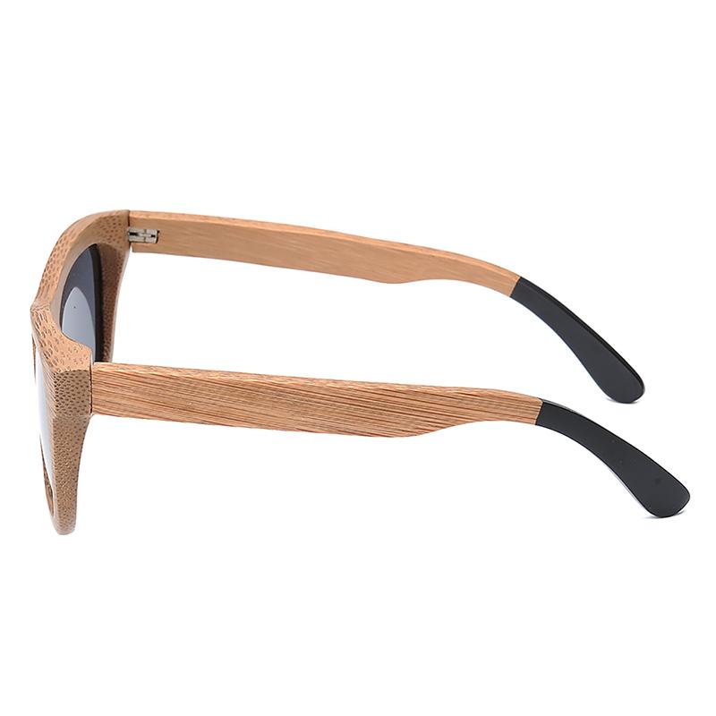 BG007a-Czc-Bamboo polarized Sunglasses for  women and mens retor style  (6)