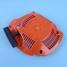 LETAOSK оранжевый откатный пусковой инструмент для начинающих подходит для Husqvarna 450 445 бензопилы двигателя 544071604 544071602