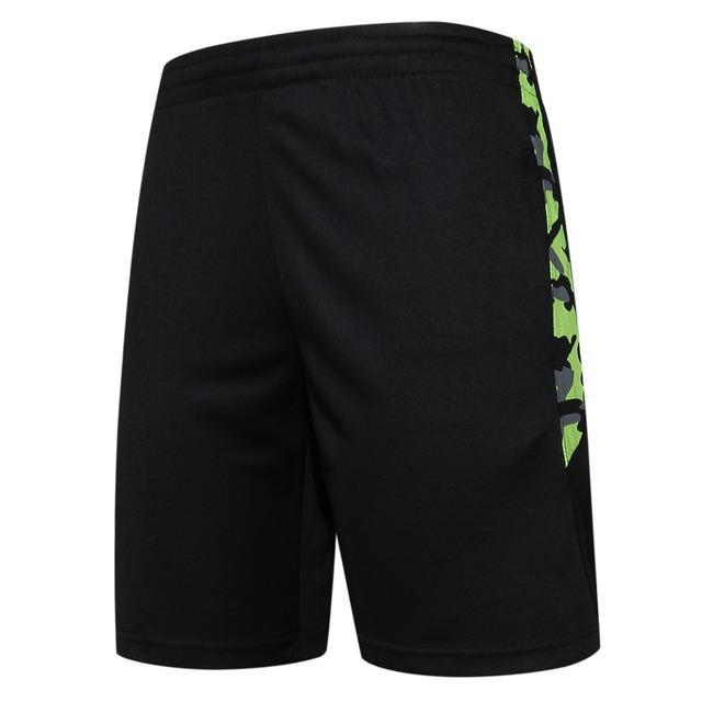 Men Sports Shorts With Zipper Pocket