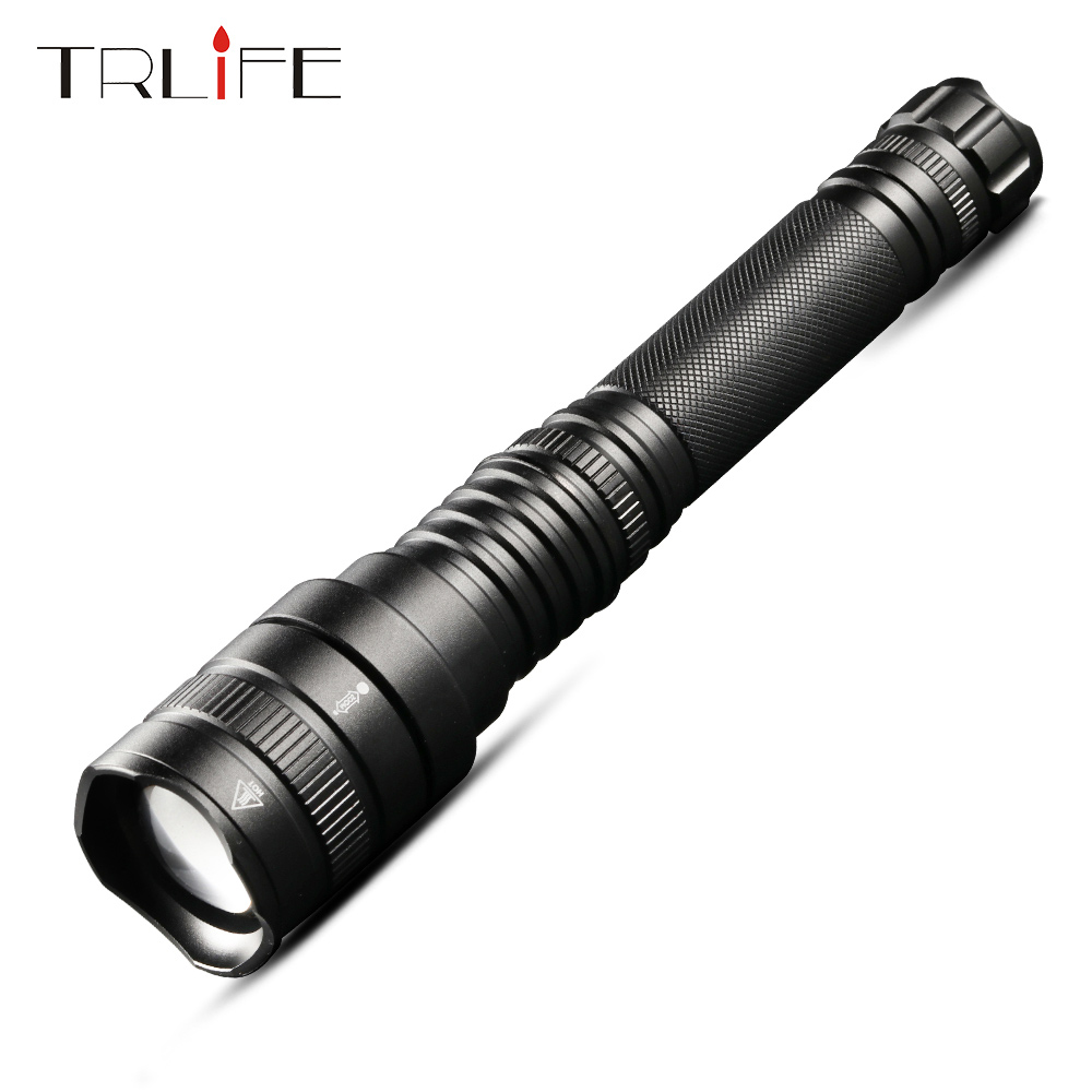 TRLIFE High Power LED Flashlight XHP50 5 Modes Indoor Outdoor Camping Repair Car Truck Torch Adjustable Focus with Magnet TrailTRLIFE High Power LED Flashlight XHP50 5 Modes Indoor Outdoor Camping Repair Car Truck Torch Adjustable Focus with Magnet Trail