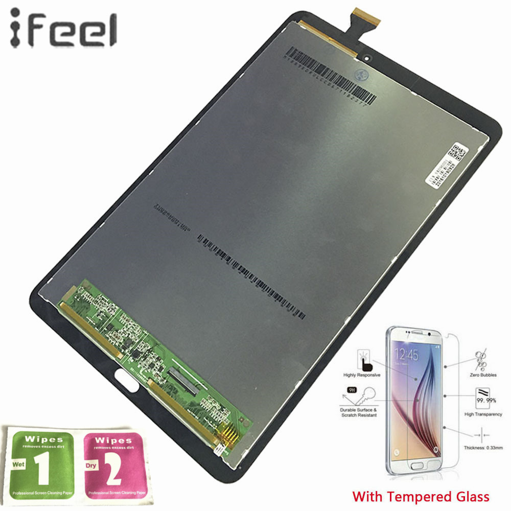 IFEEL 100% Test Assembly Panel Repair For Samsung GALAXY Tab E 9.6 T560 WiFi T561 3G Sensors LCD Display Touch Screen DigitizerIFEEL 100% Test Assembly Panel Repair For Samsung GALAXY Tab E 9.6 T560 WiFi T561 3G Sensors LCD Display Touch Screen Digitizer