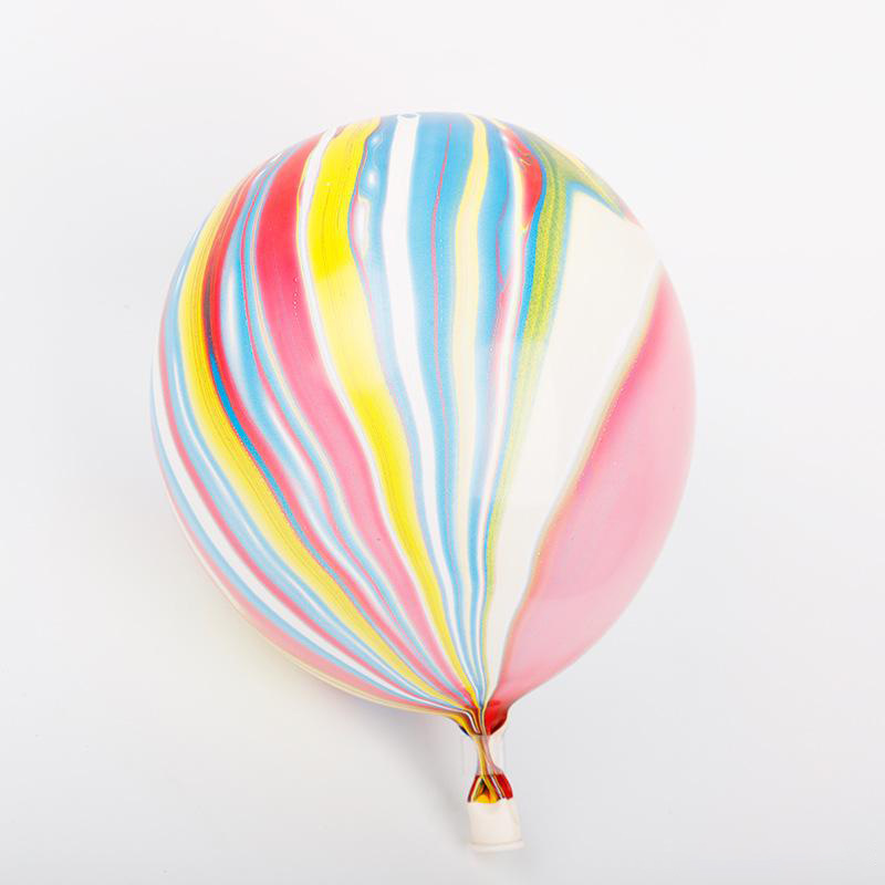 10inch 2 2g thick color agate Balloon Wedding Decoration cloud moire marble graffiti latex balloon 10pcs bag in Ballons Accessories from Home Garden