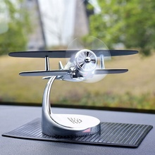 Car Aroma Diffuser Aromatherapy Solar Aircraft Decoration Air Freshener