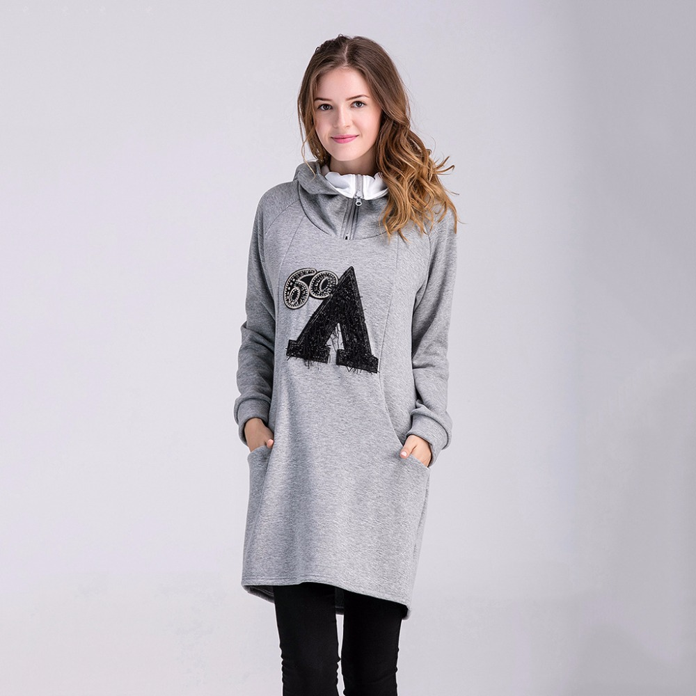 Maternity Women Hoodies Overcoat Winter Autumn Cotton Coat Outerwear Pregnant Hoodies Sweatshirts Long Jacket Parka Plus Size 2018 autunm warm sweatshirt parka folk custom print hoodies cotton women crop top hoodie moleton feminino dropshipping ag 15