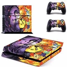 Naruto Vinyl Decal Skin Stickers for Sony PlayStation 4