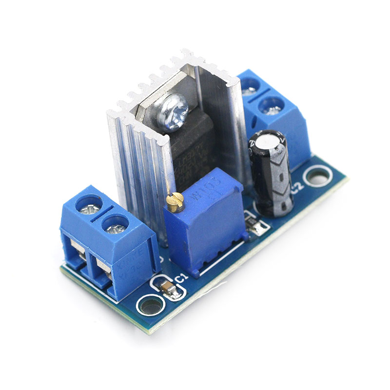 LM317 DC-DC Converter Buck Step Down Circuit Board Module Linear Regulator LM317 Adjustable Voltage Regulator Power Supply