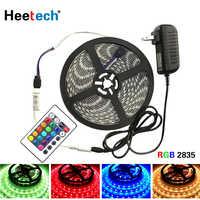 5 Meter 300Leds RGB Led Strip Light waterproof 2835 DC12V 60Leds/M Flexible Lighting Ribbon Tape Warm White Blue Red Strip