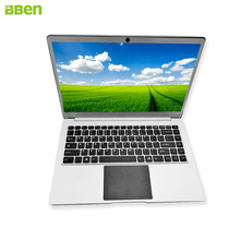 BBEN Laptop netbook Windows10 Intel N3450 Quad Core 4GB RAM 64G eMMC sliver color HDMI Type-C WiFi BT4.0 14.1 inch computer