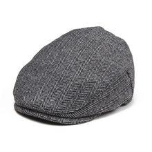 70ef78b460c JANGOUL petite taille enfants casquette plate en laine Tweed à chevrons  garçon fille gavroche casquettes infantile bambin enfant.