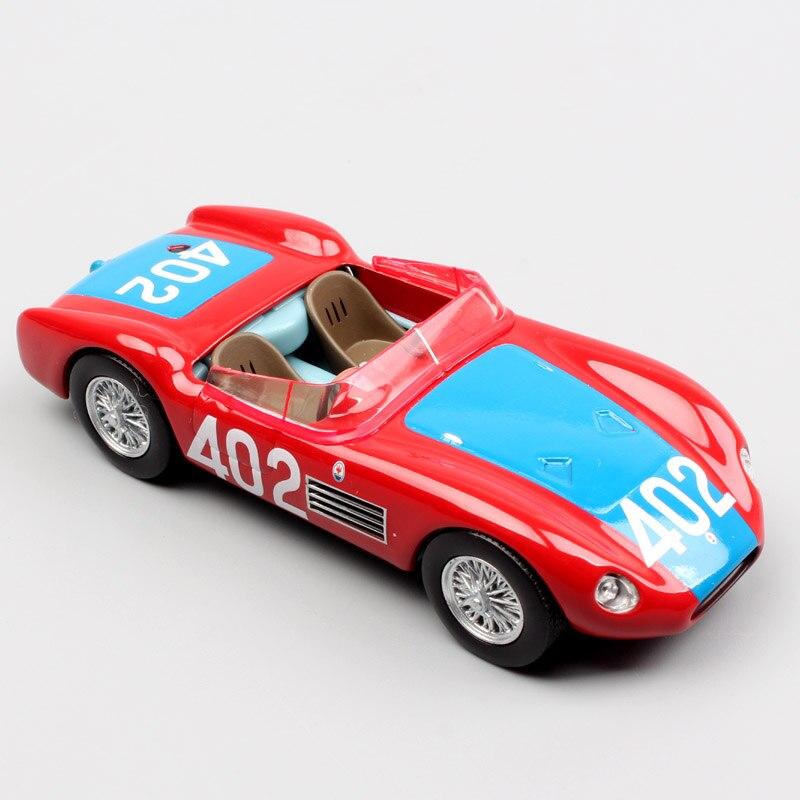 Kinder 1:43 Skala LEO NO. 402 Tipo 53 150 S Mille Miglia 1957 Michel Sportscar alten metall fahrzeug metalldruckguss rennwagen modell spielzeug