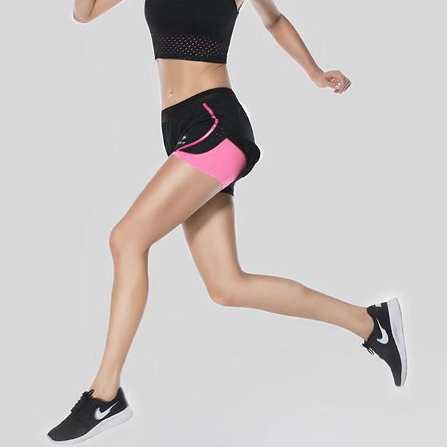 Women s Running Shorts Lady Tenis Masculino Fitness Jogging Femme Gym Shorts  Women Short Sport Femme Shorts 4c2b434a54e