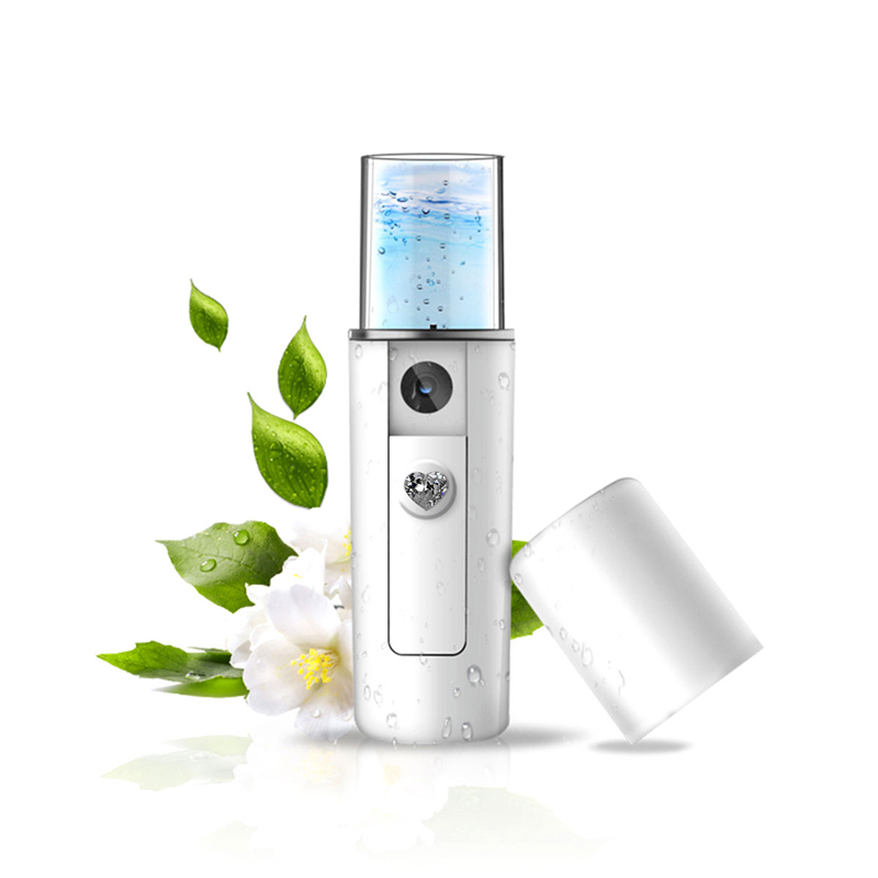 Portable Deep Cleaning Facial Steamer Vaporizer Sauna Spa Ultrasonic Ozone Mist Spray Nano Mister Face Replenishment Equipment