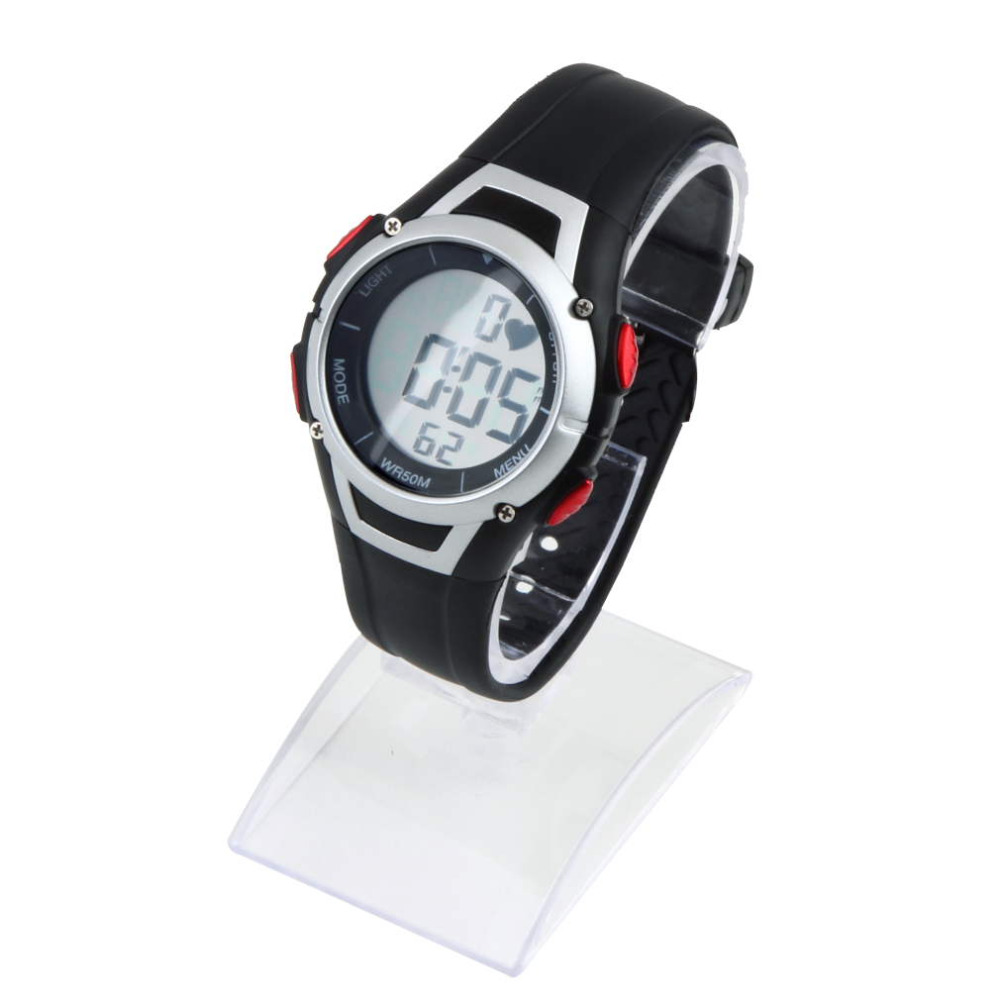 1Pcs Waterproof Heart Rate Monitor Sport Fitness Watch Favor Outdoor Cycling Sport Digital Wireless Running Cycling Chest Strap in Outdoor Fitness Equipment from Sports Entertainment