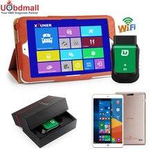 "Neueste V9.2 XTUNER E3 EasyDiag Wifi OBD-II Automotive Scanner + 8 ""WIN10 Tablet Auto-diagnosewerkzeug Ersatz Vpecker"