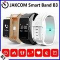 Jakcom b3 banda inteligente novo produto de pulseiras como fone de ouvido bluetooth pulso smartfone android smartband falar