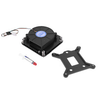 4pin PWM Turbo Cooling Fan Utral-Thin 29mm w/ Mounting Bracket for 1U Server CPU Cooler PC Cooling For Intel LGA1151 1150 1155
