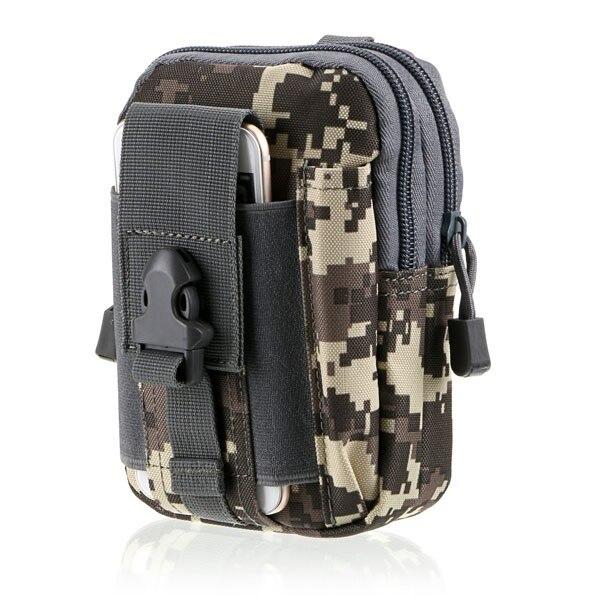 전술 Molle 남자 야외 스포츠 고품질 팩 가방 사냥 가방 지갑 케이스