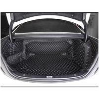 Lsrtw2017 волокна кожи багажник автомобиля коврик для mercedes benz e200 e300 e320 e400 2009 2019 2018 2017 2016 2015 2014 2013 w212 w213