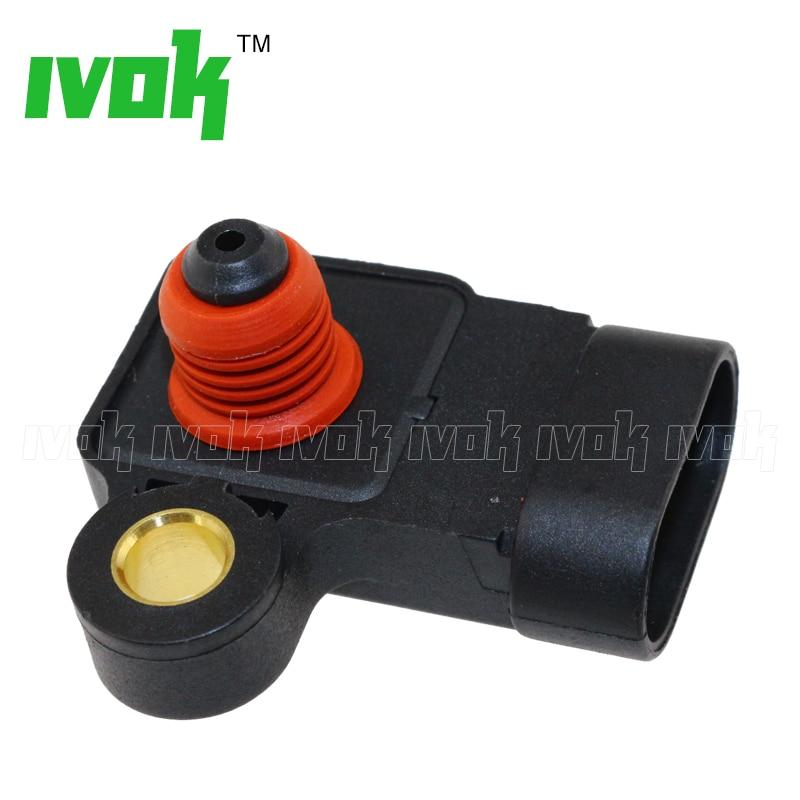 1BAR Intake Air Manifold Absolute Pressure MAP Sensor Drucksensor 25184082 96417830 For Daewoo Lacetti Nubira 1