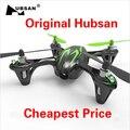 F07858 Hubsan X4 H107C 2.4 G 4CH RC helicóptero Quadcopter con la cámara RTF + transmisor + Mini bateria Drones juguetes de Control remoto