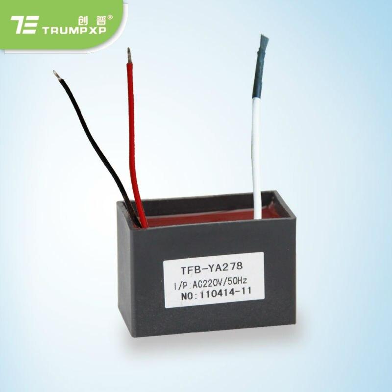 1 шт. розничная продажа отрицательных ионов части холодильника очистители воздуха черный портативный TRUMPXP tfb-y78