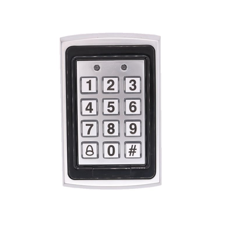 125KHz RFID  Metal Access Control Keypad ID Card Electric Digital Password Door Lock lpsecurity 125khz id em or 13 56mhz rfid metal door lock access controller with digital backlit keypad ip65 waterproof