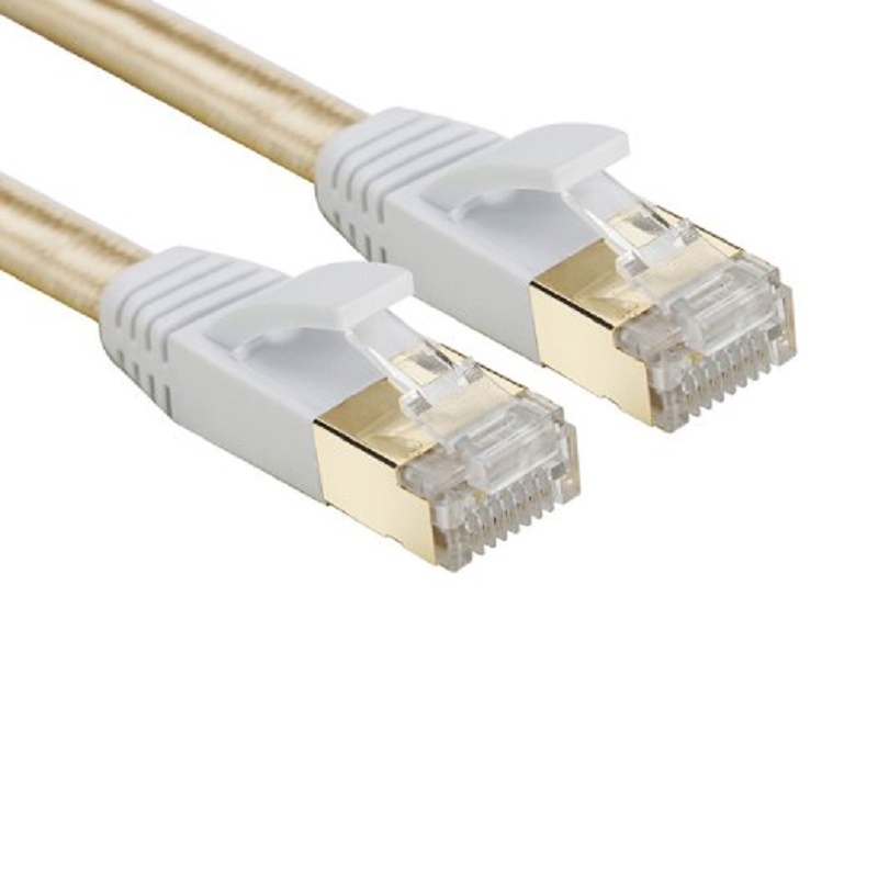 LNYUELEC Cat 7 RJ45 Shielded Pure copper LAN Network Ethernet Cable Internet Cord 3FT 6FT 10FT 1M 2M 3M 5m 10m 15m 20m 1m 1 5m 2m 3m 5m 10m cat5 100m rj45 ethernet cables 8pin connector ethernet internet network cable cord wire line hot