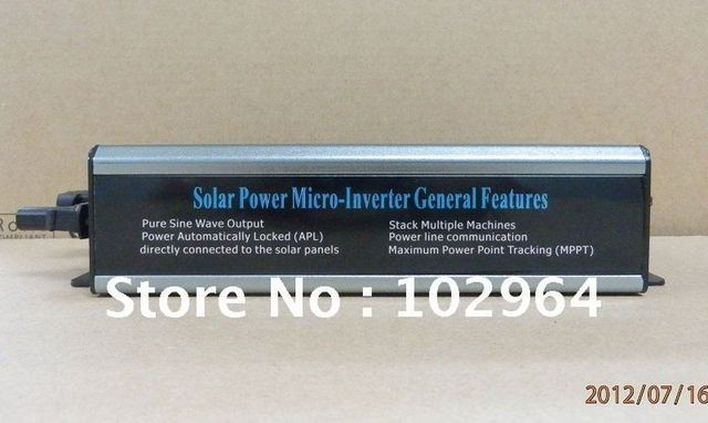 2012 new technology waterproof micro solar inverter power inverter  with plug  230W