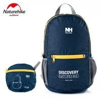NatureHike Laptop Backpack Fashion Letter Print Portable Waterproof Climbing Ultralight Bright Backpacks Women Travel 15L