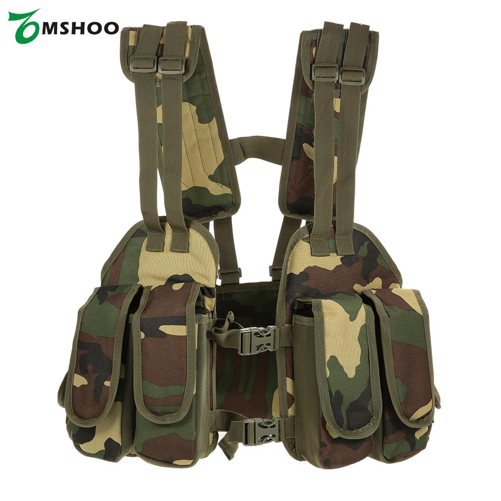 Outdoor Hunting Vests Tactical Chest Rig Adjustable Padded