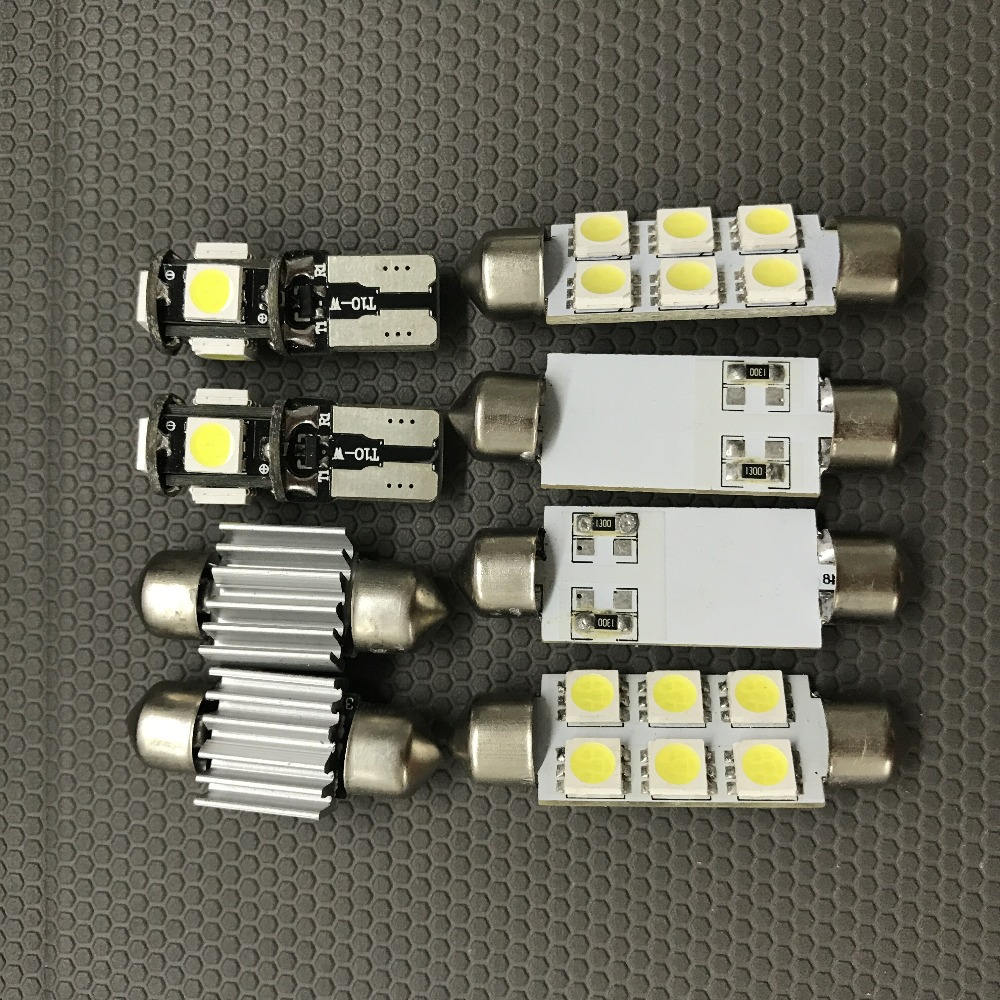 11pcs Canbus White Led Light Bulbs Interior Package Kit For 2003 Dodge Ram Seat Wiring Harness 2008 1500 2500 3500 12v Map Dome License Plate Lamp In Signal From