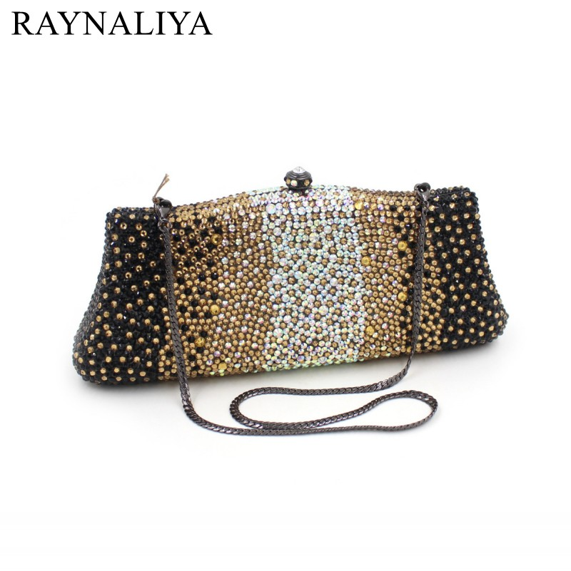 2017 Real Promotion Minaudiere Evening Bag Polyester Fashion Diamonds Women Panelled Hasp Hard Party Beading Bags Smyzh-f0103 women luxury rhinestone clutch beading evening bags ladies crystal wedding purses party bag diamonds minaudiere smyzh e0193