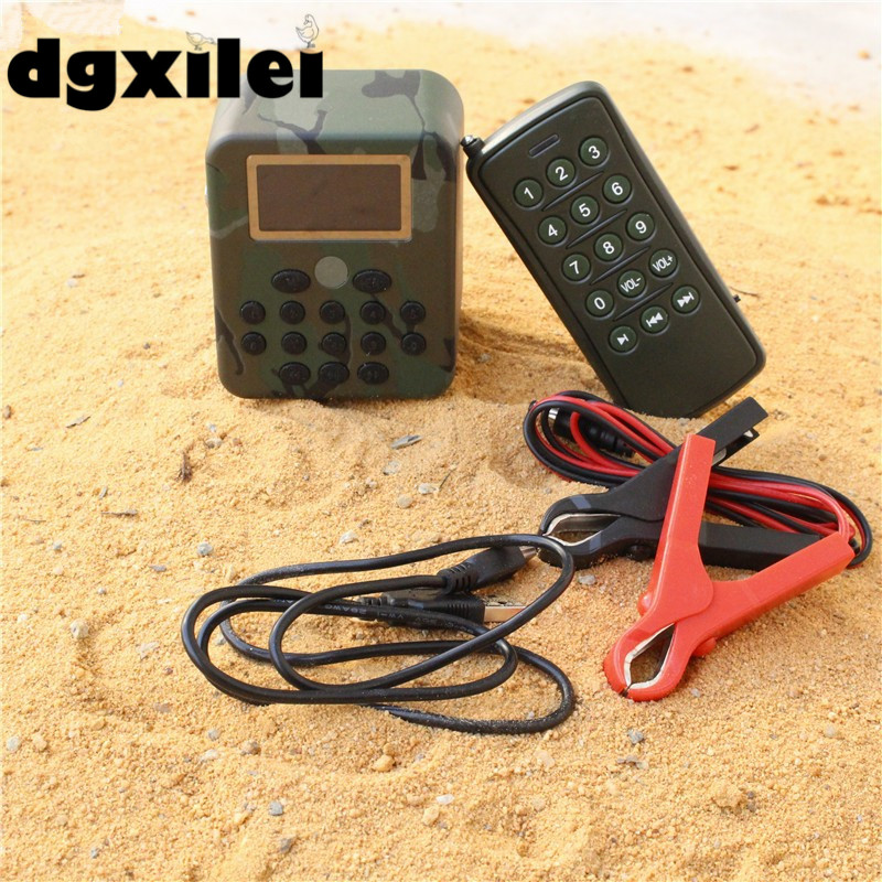 New Portable 50W 150dB DC 12V Watch MP3 Player Bird Caller With Remote Control & 210 Watch The Sound Of Birds
