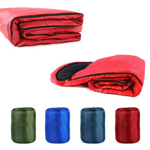 Triclicks Ultralight Portable Mummy Sleeping Bag Camping Adult Cotton Winter Warm Lazy Bag Outdoor Double camping sleeping bag цена