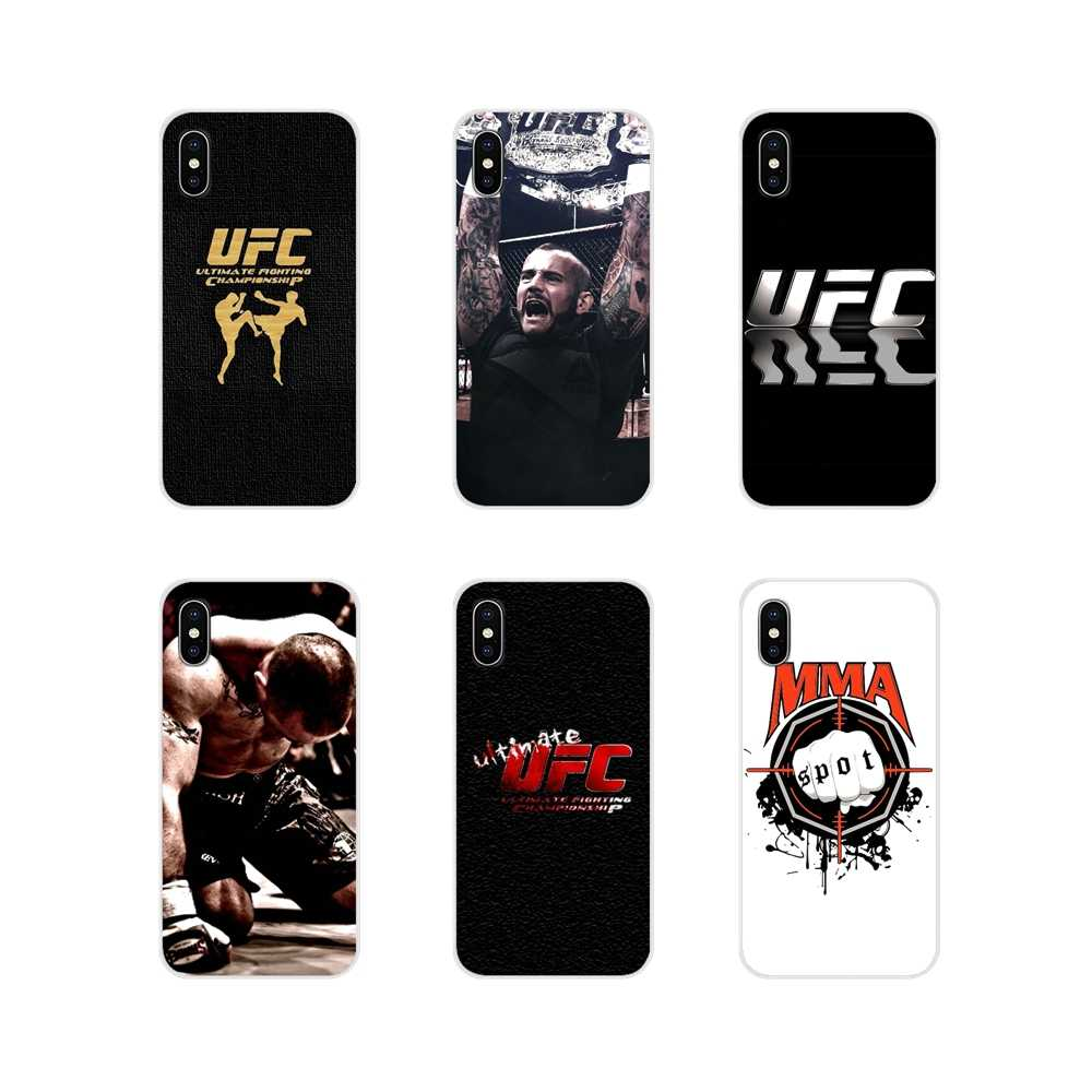Legal de boxe mma ufc Para Samsung A10 A30 A40 A50 A60 A70 Galaxy Note 2 S2 3 Grande Núcleo Prime acessórios Phone Cases Covers