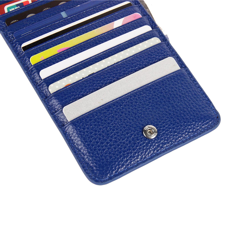 Frauen Geldbörsen Karte Id Halter Kreditkarte Tasche Fabrik Verkauf Echtes Leder Brieftasche Reißverschluss 20-karte Position Brieftasche Drop Ship