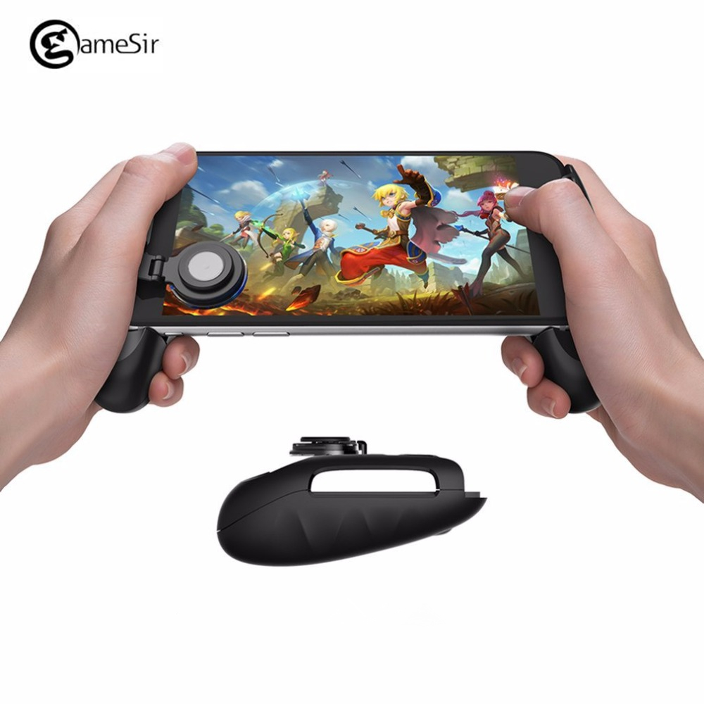 Gamesir F1 Telescopic Game Joystick Gamepad with Swing Arm Joystick Controller Grip Case for SmartPhones Video Game Joypad PUBG