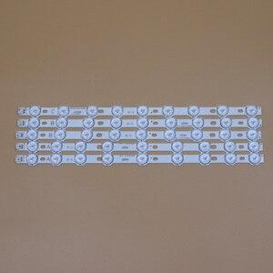 Image 1 - LED TV barlar PHILIPS 40PFL3008H 12 40PFL3008K/12 40PFL3028H/12 40PFL3018H/12 LED arka şerit kiti 9LED lambaları lens 5 bantları