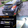 1x White 6000K T15 W16W CREE Chips +SAMSUNG LED Reverse Backup Light  Bulb 12V For 2012 Up Hyundai Veloster