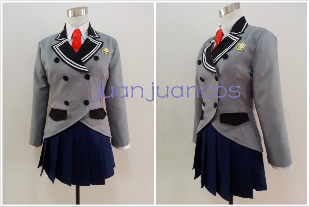 A Boring World Where the Concept of Dirty Jokes Doesn't Exist SOX Ayame Kajou Anna Nishikinomiya school uniform Cosplay Costume image